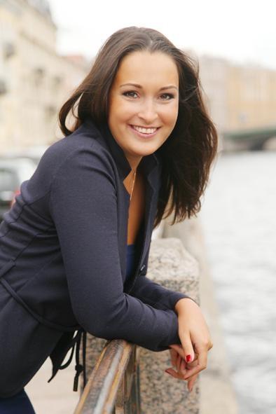 La jolie femme russe pour