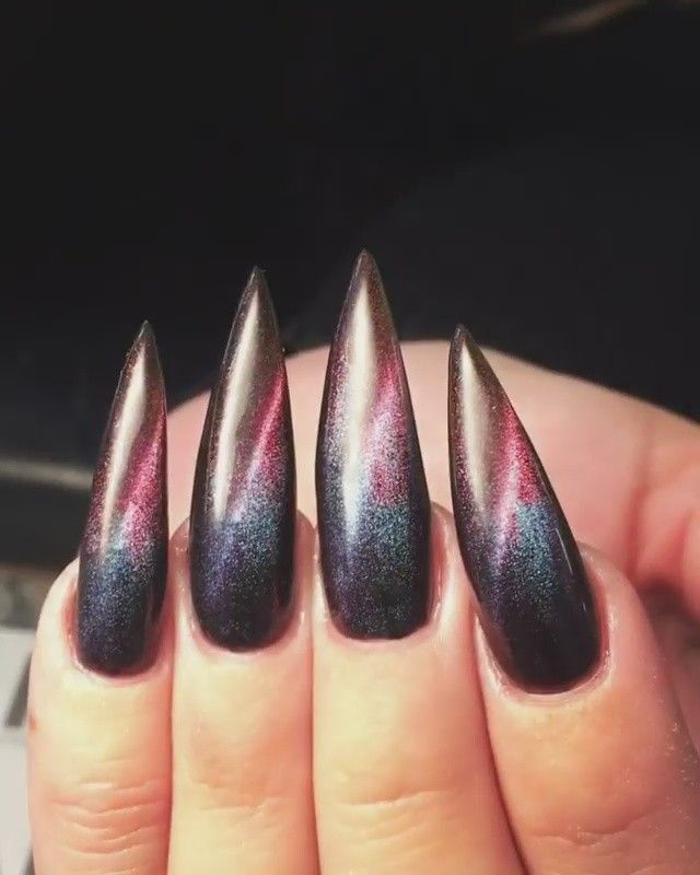 """3,137 Likes, 12 Comments - TheGlitterNail  Get inspired! (@theglitternail) on Instagram: """"✨ : Picture and Nail Design by •• @nails_by_annabel_m •• Follow @nails_by_annabel_m for more…"""""""