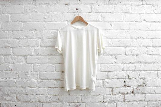White Bricks, Exposed Bricks, White Tees, White T Shirts, Style, White On White, Bricks Wall, Simple White, Brick Walls