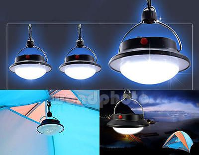 Portátil 60 LED 3 Modos Luz Lámpara Linterna Herramienta para Pesca Camping | eBay