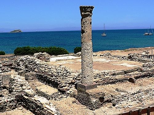 Roman ruins, Nora