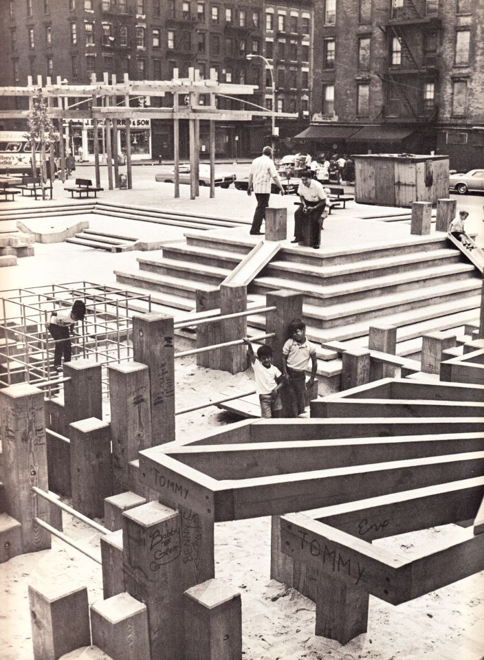 New York Playgrounds of the 60s & 70s