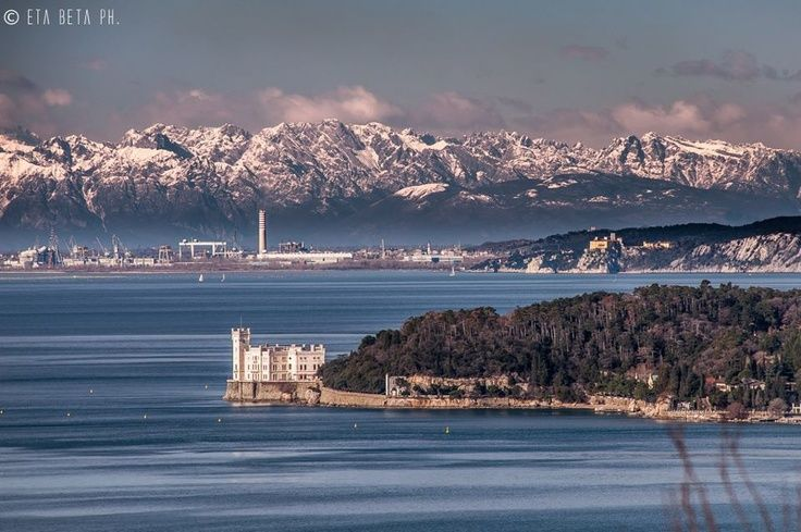 After Burja - the Bora - clear view of the Julianne Alps Trieste - could it be better