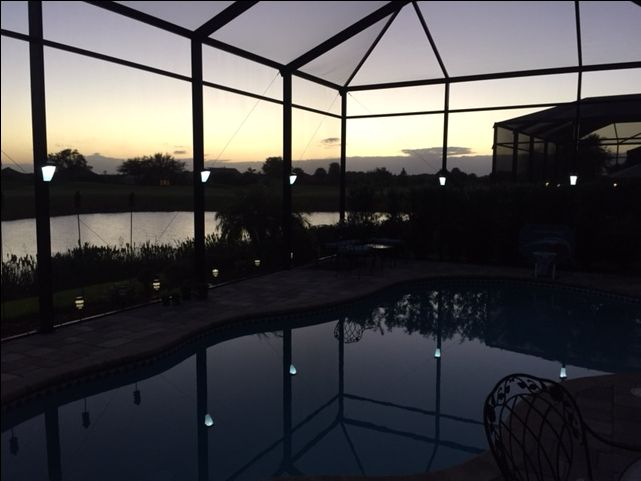 pool enclosure lighting. clip on installs in seconds solar lighting for lanai lights pool cage and screen enclosures enclosure q