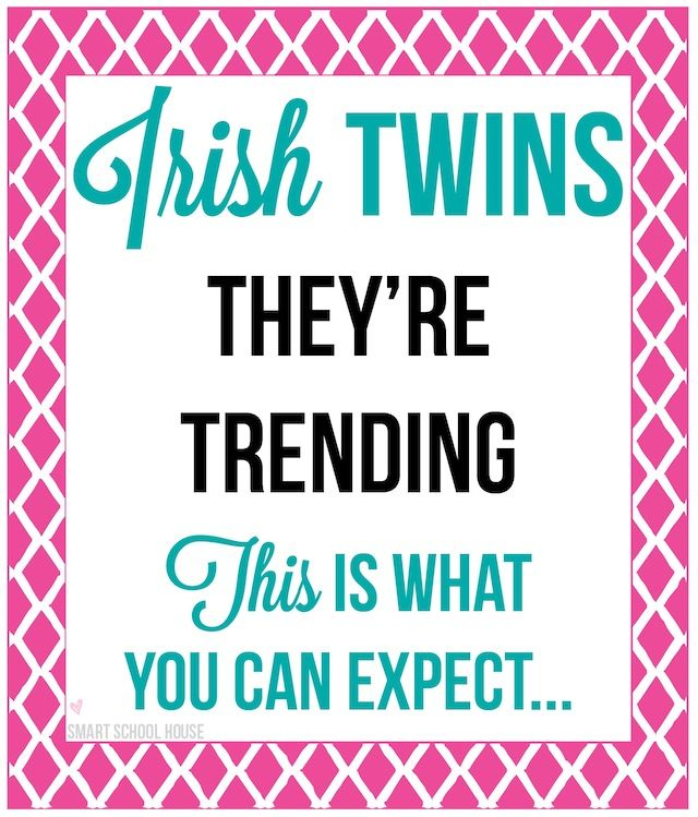 Top 10 frequently asked questions for moms of Irish twins (aka back-to-back babies)