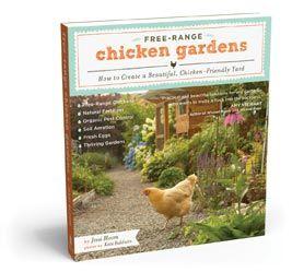 Book: Free-Range Chicken Gardens: Chicken Book, Chicken Coops, Beautiful Chicken, Book Chickens, Gardens Book, Chicken Gardens, Chicken Friendly, Free Range Chicken, Chicken Resistant