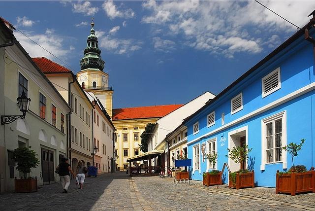 Streets of Kroměříž, Czech Republic