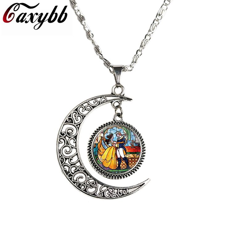 """""""Moon Glass"""" Beauty and the Beast Pendant Necklace  Price: 1.60 & FREE Shipping  Get it here ---> https://thegiftscafe.com/caxybb-wholesale-glass-picture-pendant-beauty-and-the-beast-necklace-rose-glass-pendant-art-pendant-for-moon-necklace-n-m240/ Like Our FB Page --> https://www.facebook.com/EazyDevices/  #wirelessdevices"""