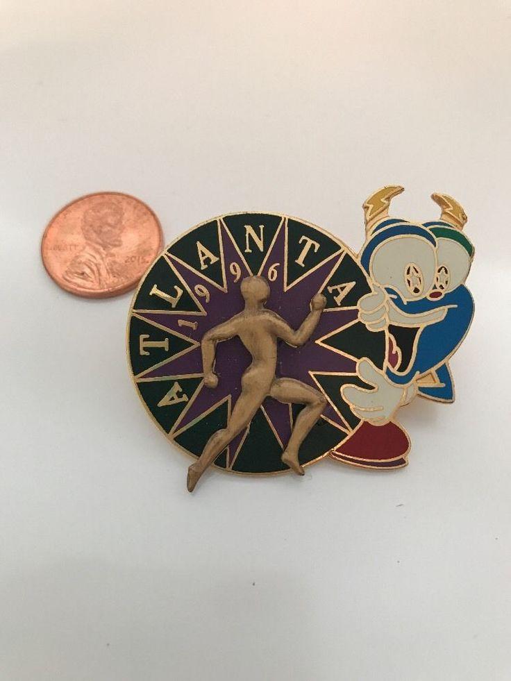 1996 Izzy Atlanta Olympic Pin Large 3D Track Field Athletics    eBay