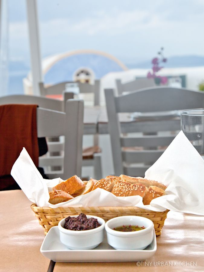 """Great restaurant on Santorini in Oia called """"Papagalos."""""""