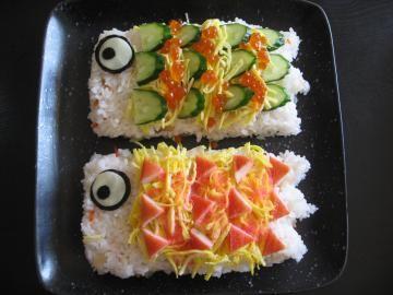 こどもの日☆ こいのぼりちらし寿司