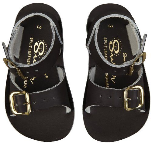 Saltwater by Hoy Boys' Surfer Urethane - Brown - 6 Toddler - http://all-shoes-online.com/salt-water-sandals/saltwater-by-hoy-boys-surfer-urethane-brown-6