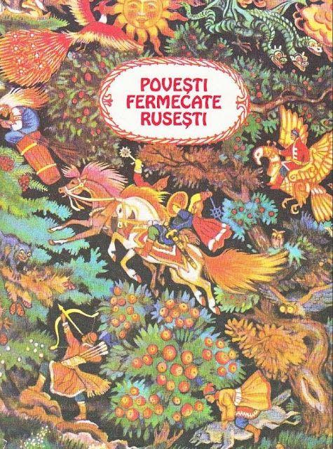 Povesti fermecate rusesti, desenele din carte
