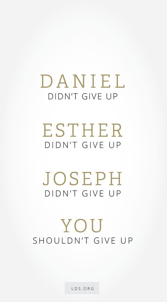 """Don't give up. Seek God with all your heart. Exercise faith. Walk in righteousness."" From #PresUchtdorf's http://pinterest.com/pin/24066179228856353 inspiring #LDSconf http://facebook.com/223271487682878 message http://lds.org/general-conference/2016/10/fourth-floor-last-door #ShareGoodness"