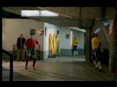 Nike Pubblicità Brasile Portogallo 2004