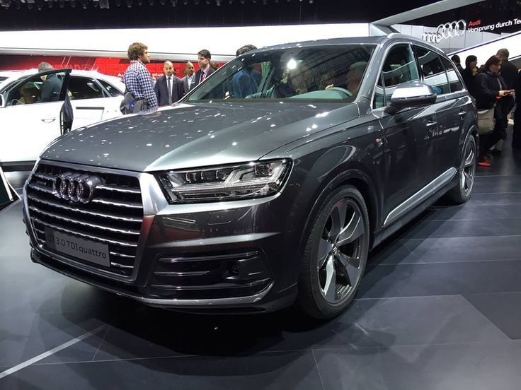 Another top debut at Geneva, Audi Q7! The closest rival of the new Volvo XC90 is definitely Audi Q7, which was presented at the Geneva Motor Show in the company of Audi R8 and Prologue Avant concept.  Details about the SUV by automobile manufacturer from Ingolstadt are known, including the fact that it shares key components with...