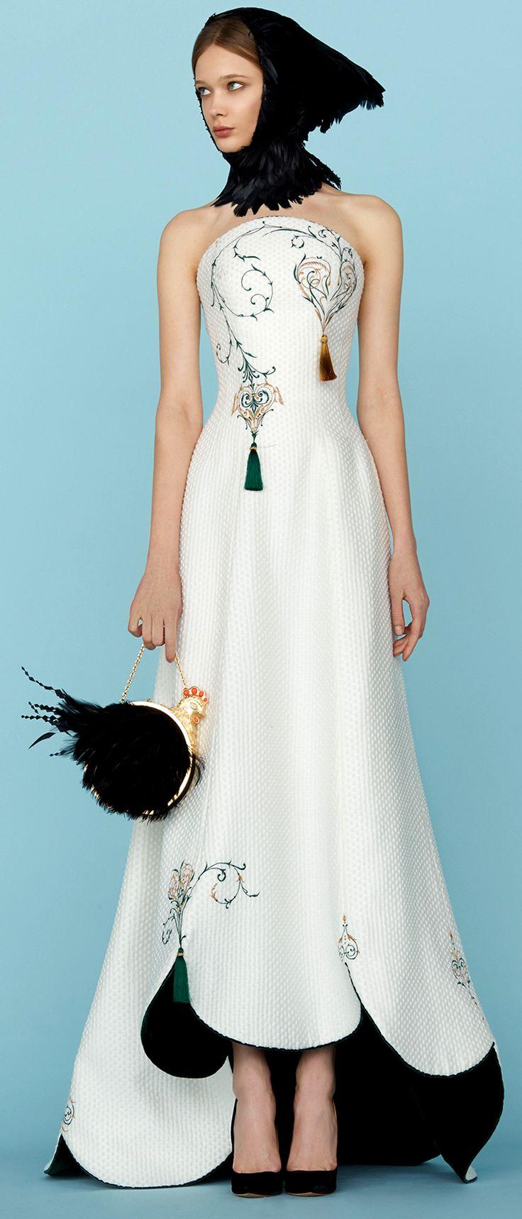 Ulyana Sergeenko [Spring 2015] Couture Style.com