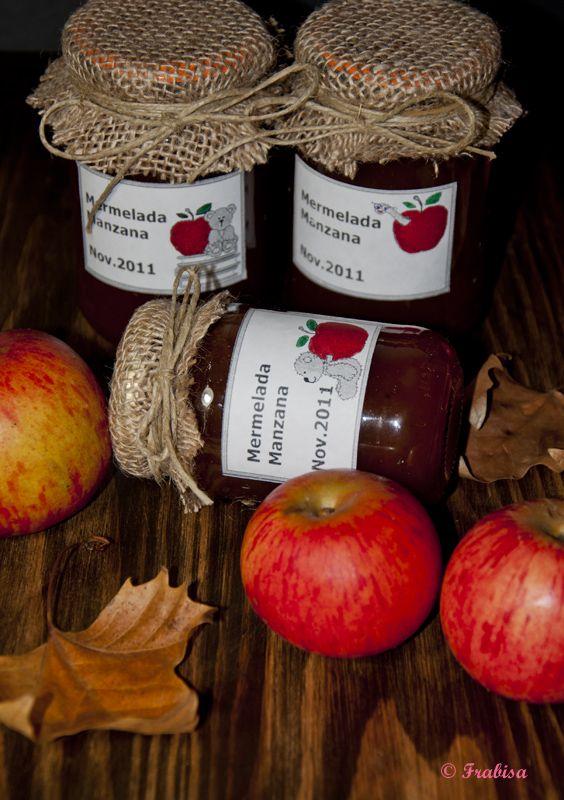 La cocina de Frabisa: Mermelada o dulce de manzana aromático