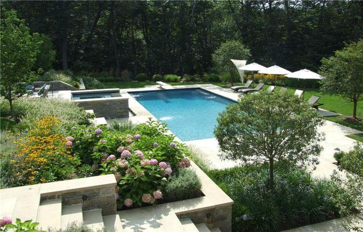 109 best hillside pool images on pinterest dream pools for Pool design hillside