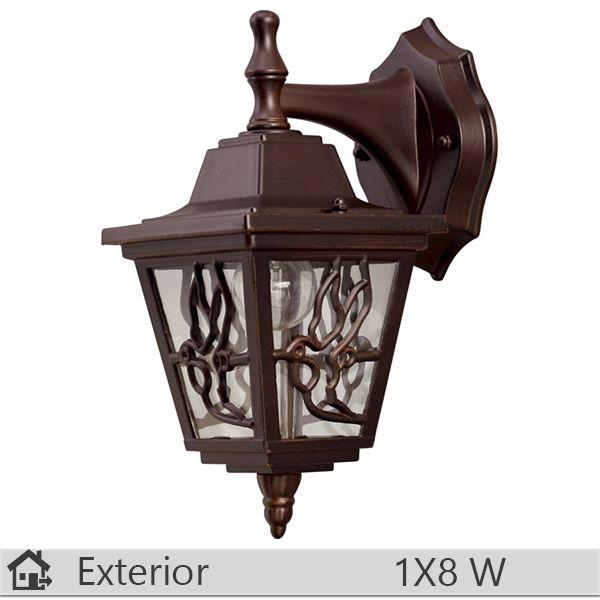Aplica iluminat decorativ exterior Klausen, gama Boston, model nr3 Brun http://www.etbm.ro/