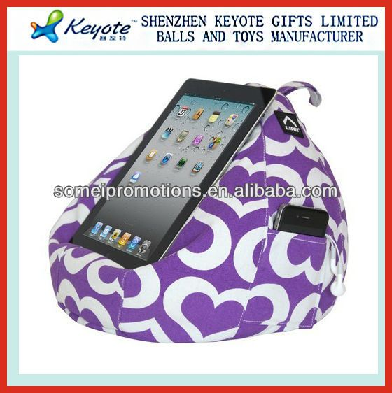 Bean Bag Tablet Holder for ipad bed stand $1.5~$2.5