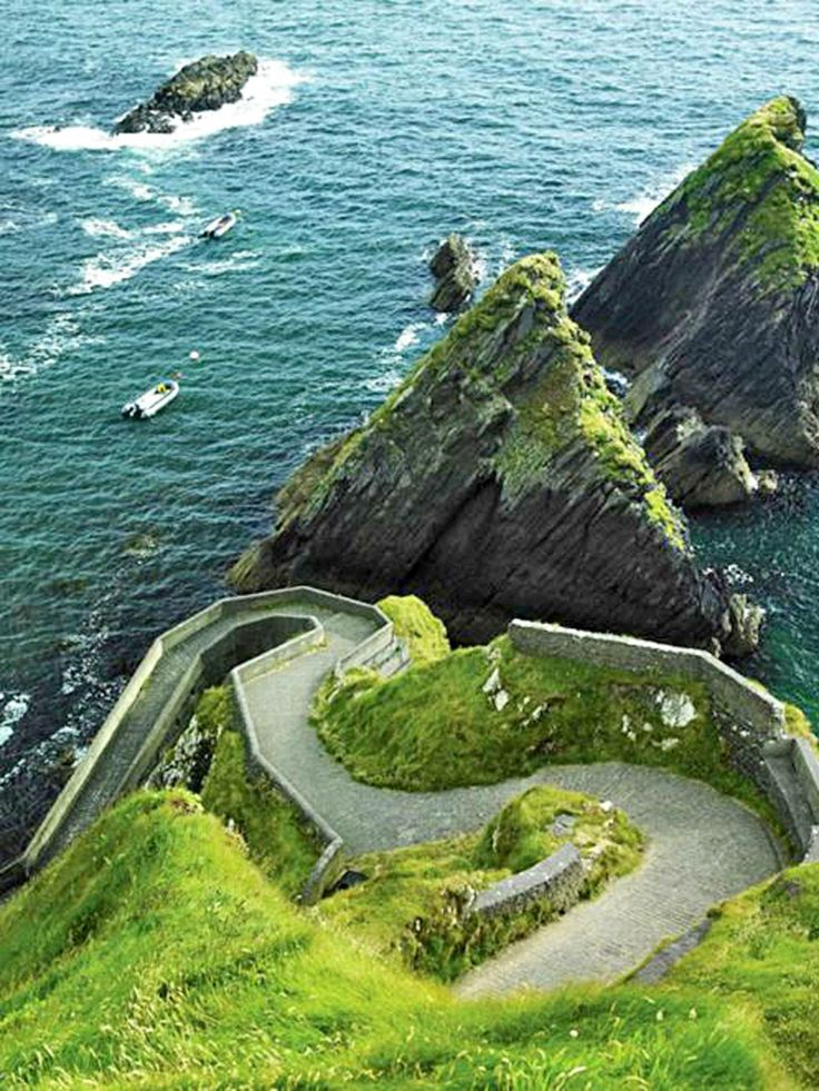 """Billed as """"the longest defined coastal touring route in the world"""", Ireland's Wild Atlantic Way has just been officially inaugurated. This epic road trip skirts the rugged western extremities of the island for 1,500 miles from Malin Head on Donegal's Inishowen Peninsula – mainland Ireland's most northerly point – to the quaint, seaside town of Kinsale in the south, in Co Cork. I wonder how long it would take to walk it....."""