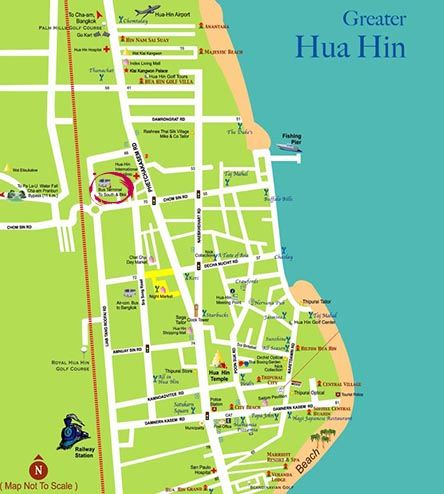 Visit Hua Hin in the Gulf of Thailand