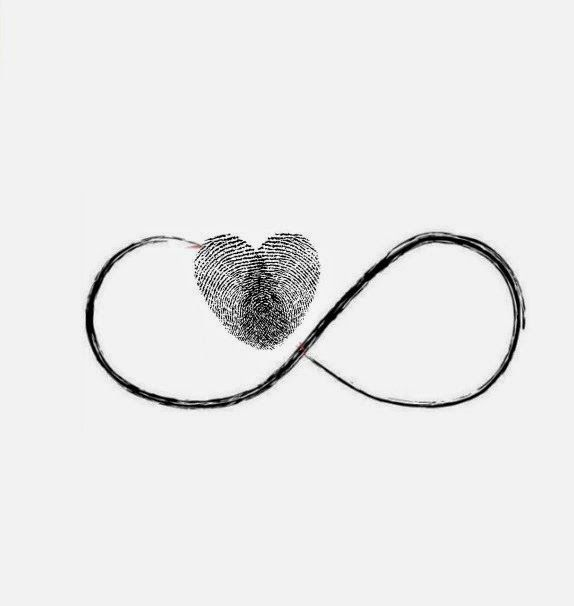 Tattoo Art And Style: This heart is a combo of two fingerprints joining ...