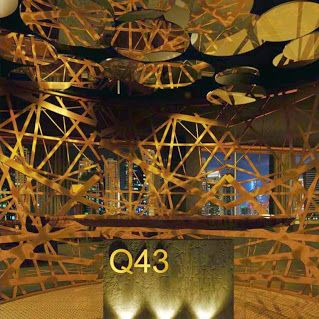 Q43 Dubai- lounge, bar and restaurant which located at Media One Hotel,Dubai United Arab Emirates.