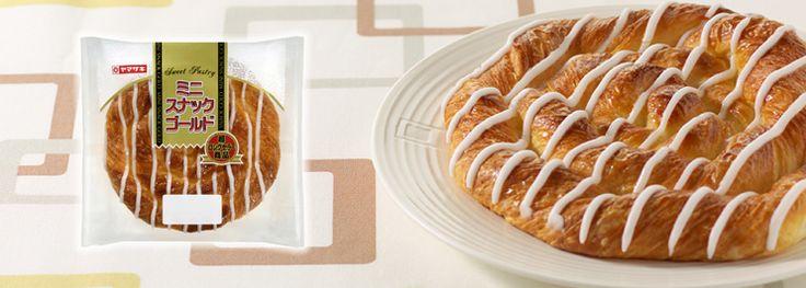 山崎製パン   商品情報   商品情報[菓子パン]   ミニスナックゴールド
