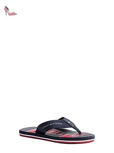 TOMMY HILFIGER FM0FM00533 MIDNIGHT TONG Homme MIDNIGHT 42 - Chaussures tommy hilfiger (*Partner-Link)