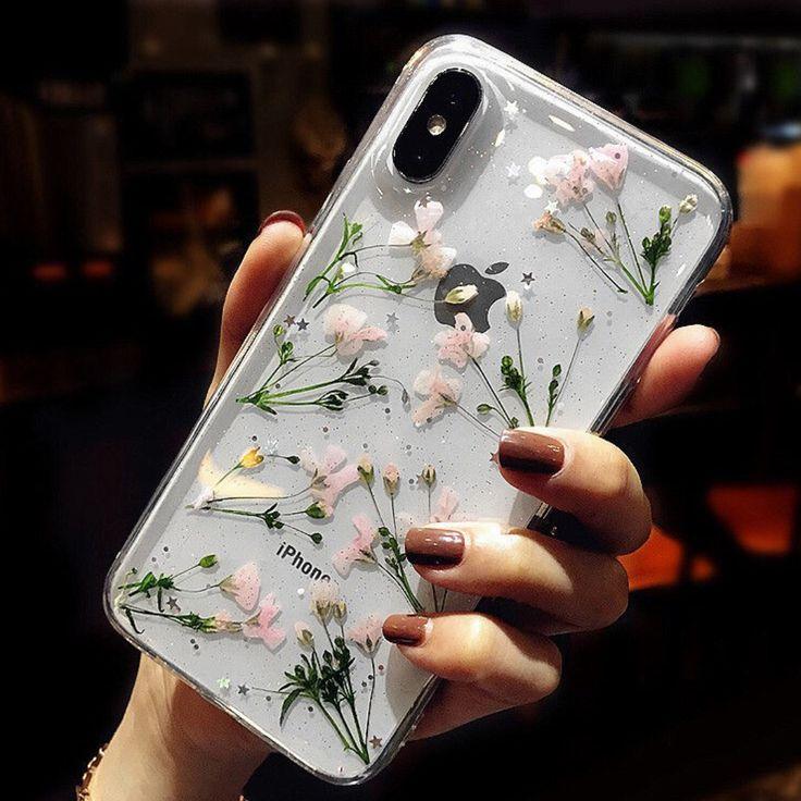 Buy RockaCase Floral Print Mobile Case – iPhone XS / X / 8 / 8 Plus / 7 / 7 Plus / 6S / 6S Plus
