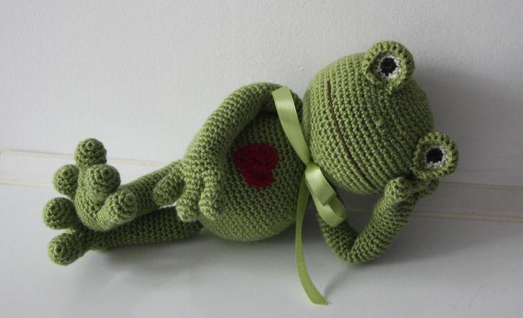frog crochet Bears&Co.