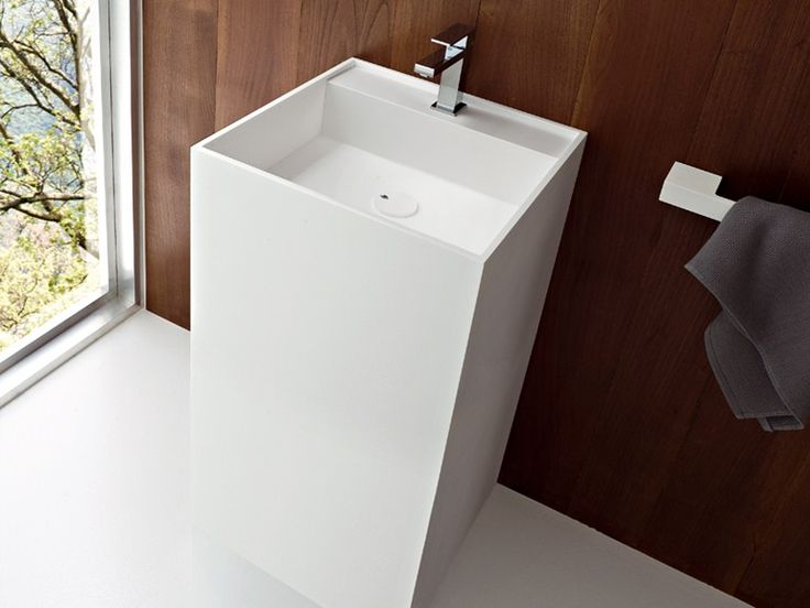 Freestanding Single Korakril™ Washbasin Unico Collection By Rexa Design |  Design Imago Design