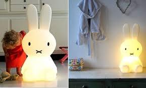 Miffy lamp by Dutch design studio Mr Maria.  http://www.mrmaria.com