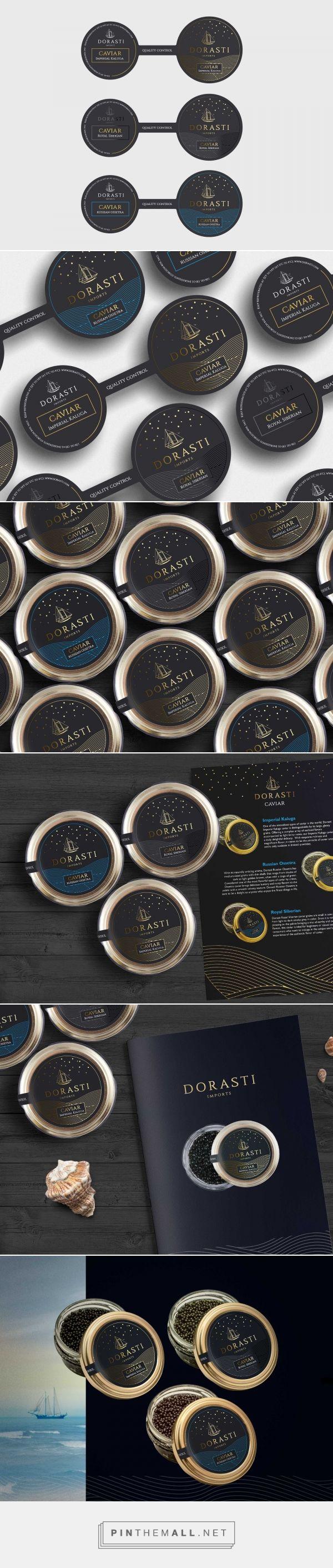 Dorasti Caviar - Packaging of the World - Creative Package Design Gallery - http://www.packagingoftheworld.com/2017/03/dorasti-caviar.html