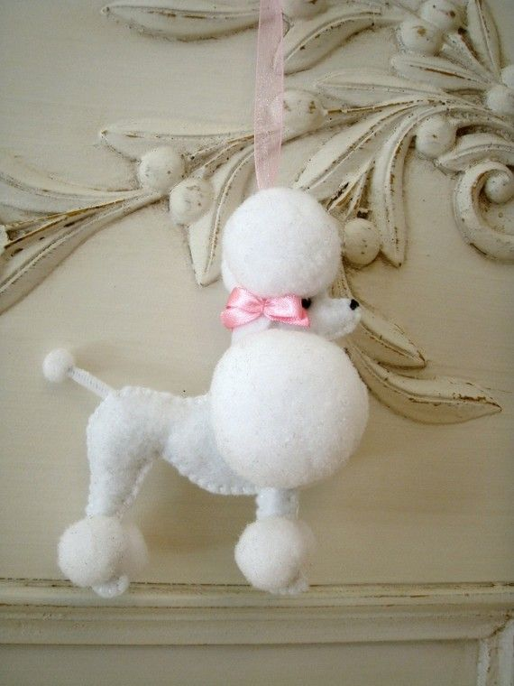 RESERVED for Tammy Fifi the French Poodle via Etsy