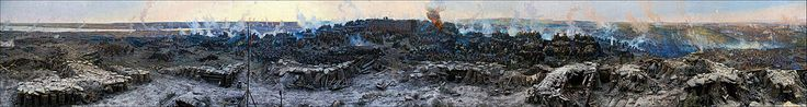 The Siege of Sevastopol by Franz Roubaud (1904)