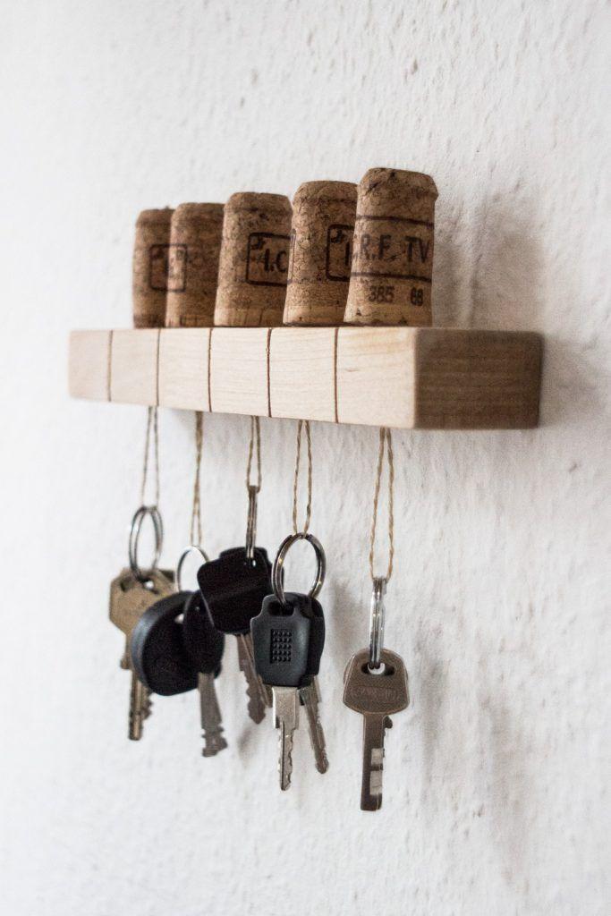 DIY-Upcycling Schlüsselbrett * Alt trifft Neu