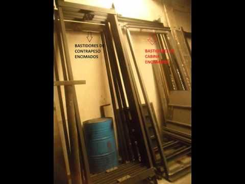 PARTES IMPORTANTES DEL ASCENSOR ELECTROMECANICO - YouTube