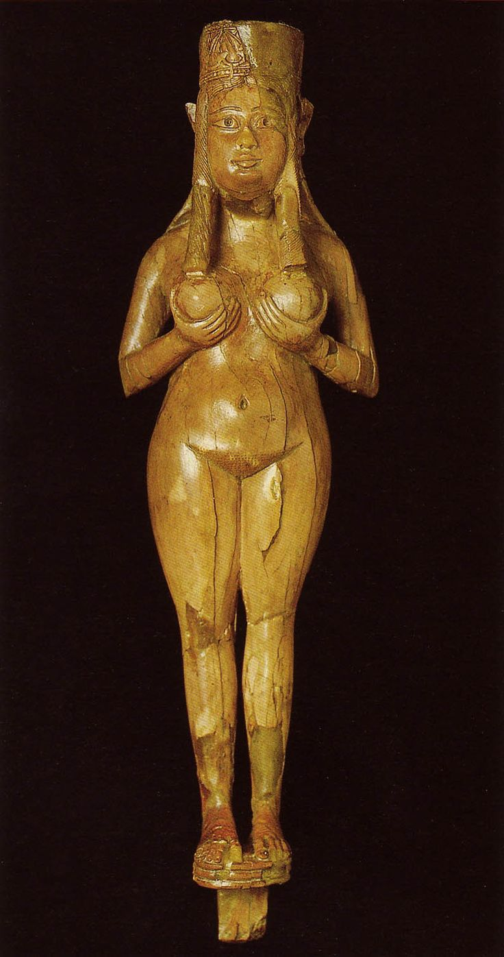 Female figurine, Unknown artist (probably Syrian), Nimrud, Iraq. Neo-Assyrian, ca. 8th century BCE.