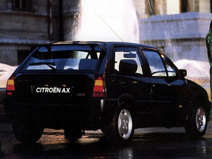 Black Citroen AX GTi stunning