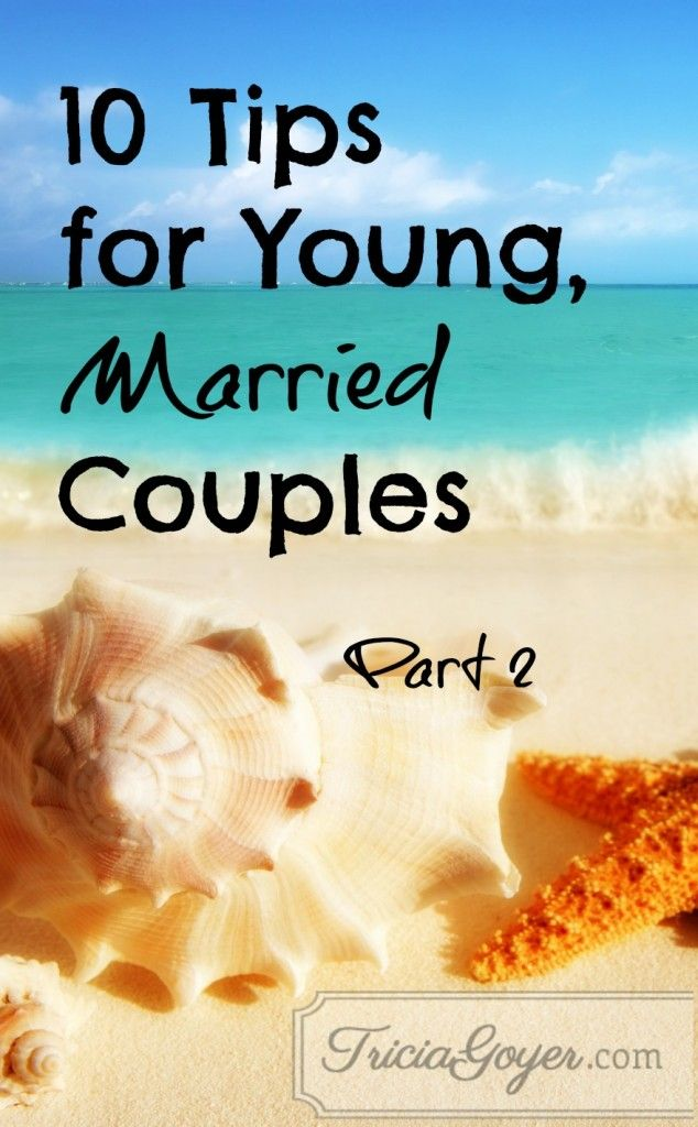 I asked my Facebook friends who have been married for at least twenty years what advice they'd give to a young, married couple, and I loved their answers! I have such wise friends. You can Read Part One. Read Part Three. Read Part Four.