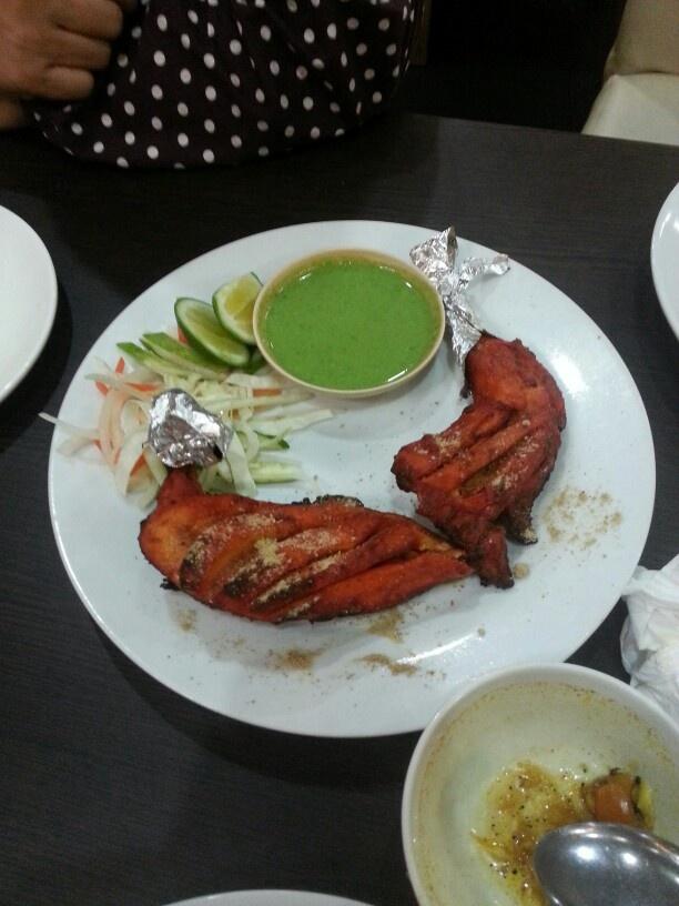 chicken tandoori indian food