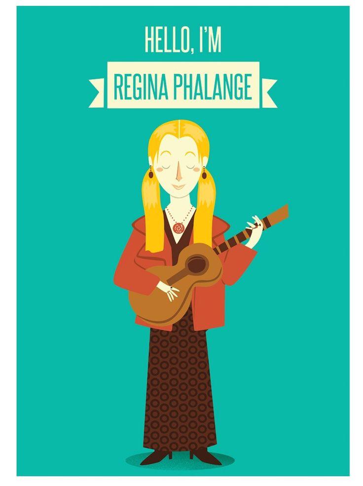 Poster FRIENDS. Phoebe Buffay