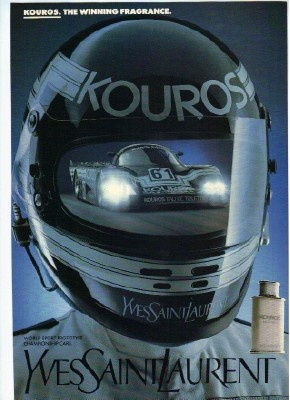 Kouros AfterShave by Yves Saint Laurent.