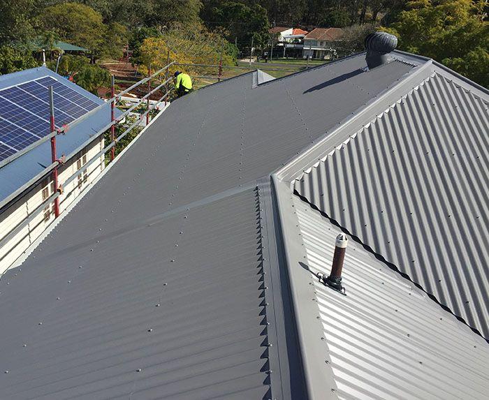 Metal Roofing Services Brisbane Steel Metal Roofing Metal Roof Roofing