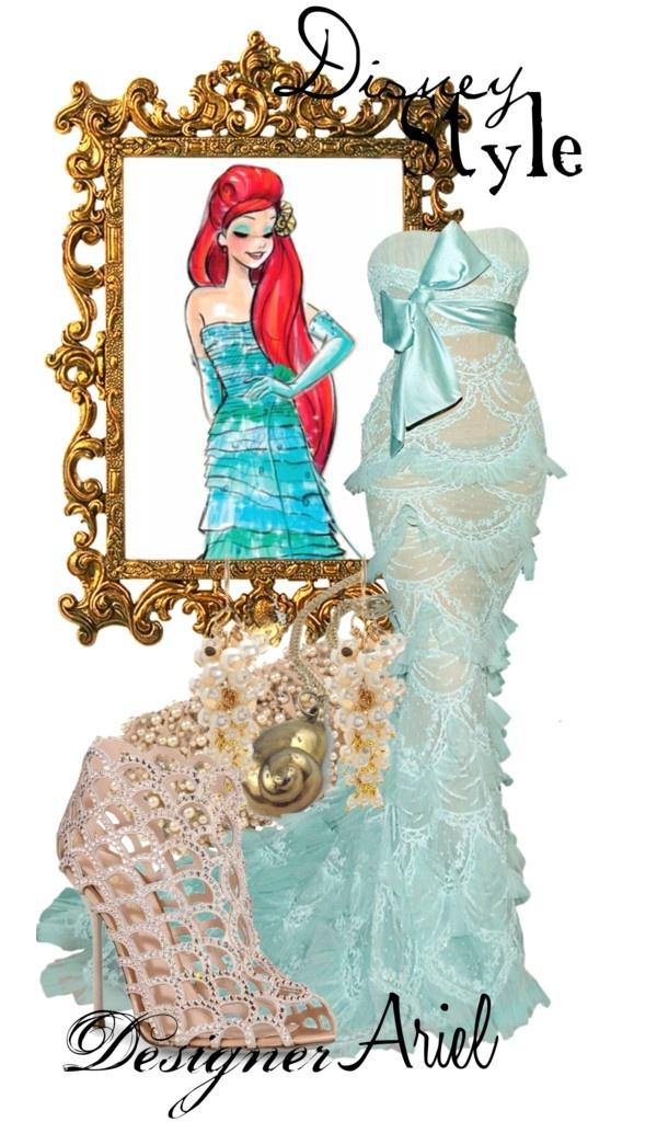 """Disney Style : Ariel"" by missm26 on Polyvore"