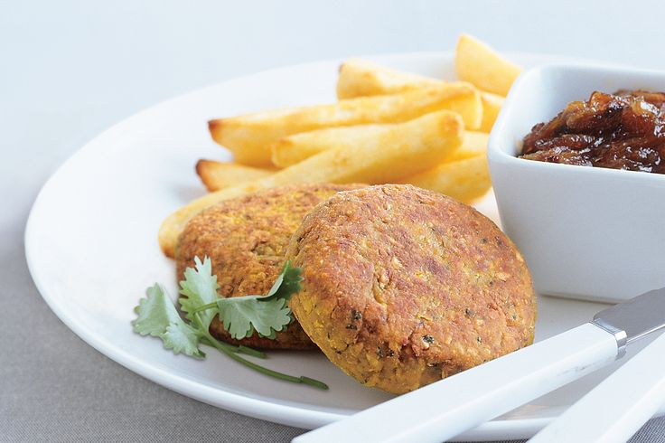 Chickpea and lentil burgers | Fritters, Burgers & Patties | Pinterest