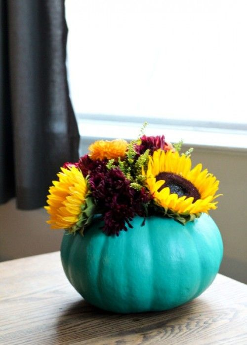 Ideas about pumpkin vase on pinterest fall